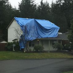 Looks like this home owner is NOT enjoying the Pacific Northwest rain.  #spanaway #graham #pnw #pnwlife #rainyday #pacificnorthwest #instagood #photooftheday #picoftheday #pic #winter