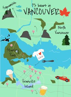 Travel Guide: How to Spend 72 Hours in Vancouver. And why you need to make your next trip to British Columbia. And why you need to make your next trip to British Columbia. Vancouver Vacation, Vancouver Seattle, Vancouver Travel, Vancouver British Columbia, Vancouver Island, Vancouver Skyline, Quebec, Ottawa, Real Madrid