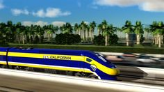 An artist's conception of a high-speed rail car in California. The state High-Speed Rail Authority has proposed building one of the first bullet-train segments between Palmdale and Burbank. California High Speed Rail, Fresno California, Trains, Train Route, Train System, Central Valley, Speed Training, Air Travel, Virtual Tour