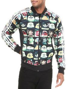 Buy All-Over Print Superstar Track Jacket Men's Outerwear from Adidas. Find Adidas fashions & more at DrJays.com