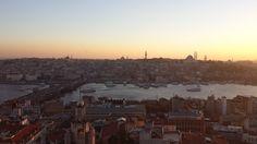 Vista del Cuerno de Oro desde la Torre Gálata, Nov 4, 2015