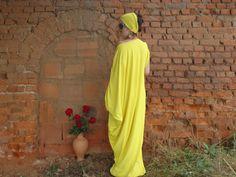 Oversized maxi dress One size dress Plus size dress by AzaliaCult
