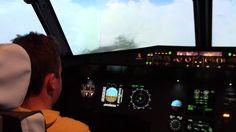 Tour de piste + atterrissage IMC LFLB | Airbus A320 Aviasim