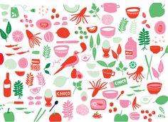 Goo Food Pattern