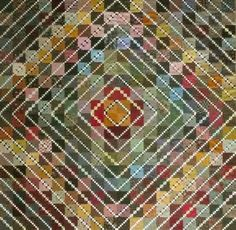 Love scrappy quilts - this one is pretty simple!