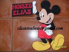 micky mouse unicel y fomi