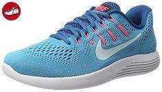 Nike Damen Lunarglide 8 Laufschuhe, Blau (Chlorine Blue/Glacier Blue-Industrial Bl), 41 EU - Nike schuhe (*Partner-Link)