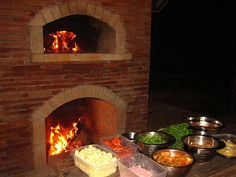 We Like The Pizza Oven On Top. Outdoor Fireplace And Pizza Oven Combination