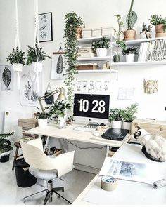 7 Whole Clever Tips: Minimalist Interior Concrete Woods minimalist living room decor home office. Home Office Design, Home Office Decor, Home Design Decor, Interior Design, Home Decor, Design Ideas, Office Furniture, Workspace Design, Furniture Design