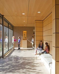 Cranbrook Kingswood Girls' Middle School | in-between spaces