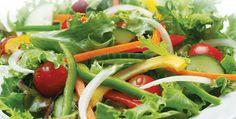 Salads To Go, Seaweed Salad, Caprese Salad, Main Meals, Green Beans, Steak, Fresh, Vegetables, Ethnic Recipes