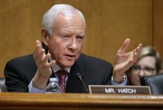 Sen. Orrin Hatch wants to save the filibuster.