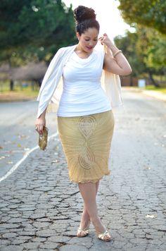 Sparkle & Shine. No solo las chicas delgadas pueden verse como las modelos.