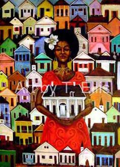 """""""It All Started Here"""" (celebrating Treme, the oldest African-American community in the U.S.) by Ted Ellis"""