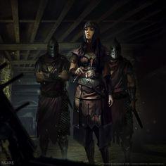 Mistveil Warden (TES Legends), by Nuare Studio