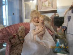 Susan's sweet mother and baby! They reside in one of my nurseries. Louise Glass