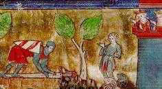 Lancelot sur le pont de l'épée détail 1