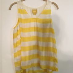 Maeve light weight fanned tank! So so cute!!! Maeve Tops Tank Tops
