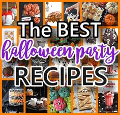 Are you looking for the BEST – funny, spooky and yummy recipes for the most EPIC Halloween Party of all time? Well, at least one your family and friends{ghouls and goblins} will b…