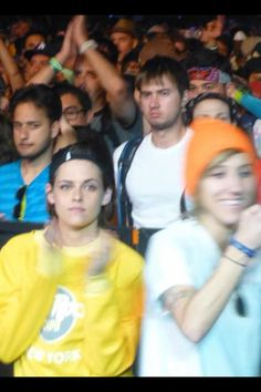 Kristen Stewart and girlfriend Alicia Cargile at Coachella 2015