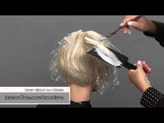 Candy Shaw shares How to Paint Blonde on Blonde in a Balayage - YouTube