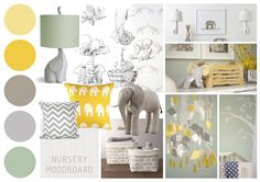 ( Nursery Mood board )