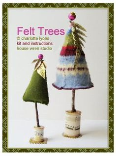 sweater felt trees