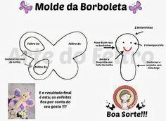 ✿Arte do Feltro✿: Moldes