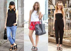 Quer adotar a birkenstock? Gloria Kalil ensina como usar a sandália que promete ser o hit do verão 2015 | Chic - Gloria Kalil: Moda, Beleza, Cultura e Comportamento