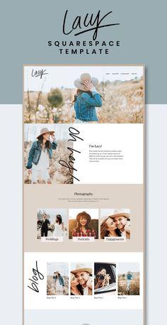 Site Web Design, Blog Website Design, Portfolio Website Design, Wordpress Website Design, Website Layout, Website Ideas, Photography Website Templates, Photography Website Design, Html Website Templates