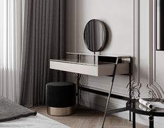- Dubrovka - Master bedroom - Master bathroom - on Behance Luxury Home Decor, Luxury Interior Design, Home Decor Trends, Neoclassical Interior, Dream House Interior, Behance, Minimalist Bedroom, Home Decor Bedroom, Clean Bedroom