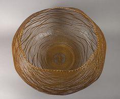 Ocean | Morigami Jin  (Japanese, born 1955) | 2009; Bamboo (madake) and rattan