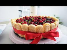 Tiramisu, Cheesecake, Sweets, Ethnic Recipes, Food, Kitchen, Youtube, Cream, Cooking