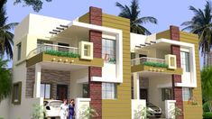 Design Discover This channel is made for free house plans and designs ideas for you. Row House Design Duplex House Design Home Design Kerala House Design Small Cottage House Plans Free House Plans Small Cottage Homes House Elevation Building Elevation House Outer Design, 2 Storey House Design, Bungalow House Design, House Front Design, Small Cottage House Plans, Small Cottage Homes, Village House Design, Kerala House Design, House Elevation