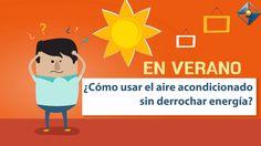 La necesidad 'extra' de refrigeración en verano y la utilización del aire acondicionado no tiene por qué traducirse en un derroche energético y emisiones de dióxido de carbono a la atmósfera. Un objetivo que se puede lograr teniendo en cuenta estas recomendaciones. Seguirlas, puede suponer hasta un 30% de ahorro de energía.  Para más información:   www.remica.es 91 396 03 30 https://www.facebook.com/Remicaenergias/ https://twitter.com/remica_es https://www.linkedin.com/company/remi...