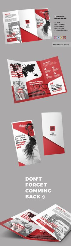 Business Tri-fold Brochure by @Graphicsauthor