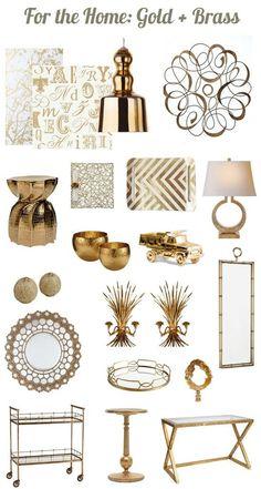18 Gold Home Decor Pieces That Wont Break The Budget Gold