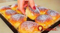Pečené buchty pre lenivých: Takéto recepty milujem – žiadne kysnutie a hneď hotové, celá rodina ich doslova zbožňuje! Baking Recipes, Cookie Recipes, Russian Recipes, Healthy Cookies, Hot Dog Buns, Food And Drink, Peach, Yummy Food, Sweets