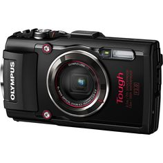 Olympus Tough TG-4 16 Megapixel Compact Camera -