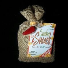 Foodie Friday: Cracker Smack! If you haven't tried our Cracker Smack mix yet, you need to! This mix really adds a punch to any mini saltines or oyster crackers. Super simple to make, just add canola oil and crackers to the mix and you are on your way to a zesty, spicy snack! #LaTDahBoutique #ShopLocal
