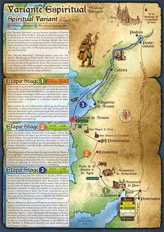 Camino Portugués - Variante Espiriual