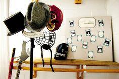 hockey themed props!