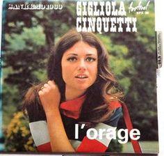 Gigliola Cinquetti - L'orage, Vole petite hirondelle (1969)