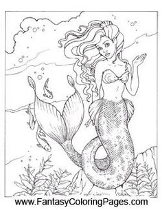16 beautiful mermaids pdf format and sizeed for x paper so they are perfect for printing color and even framing if you would like