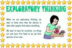 Exploratory Thinking