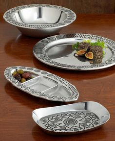 Wilton Armetale Reggae Serveware Collection. I would love to have this collection some day for entertaining!
