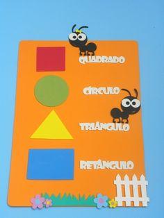 formas geométricas para educação infantil www.petilola.com.br