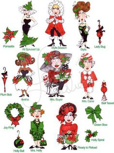 Holiday Delight I Embroidery Design Collection  by loraliedesigns, $59.00