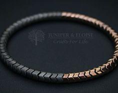 Snake Bracelet Bracelet Gift Stretch bracelet for men Black Hematite Bracelet, Snake Bracelet, Gemstone Bracelets, Bracelets For Men, Bracelet Designs, Bracelet Patterns, Men's Accessories, Bracelet Making, Jewelery