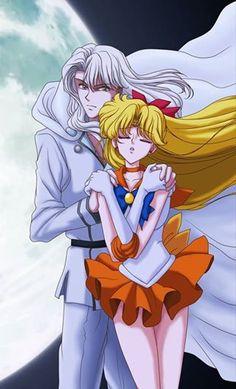 Sailor moon (crystal) Sailor Venus and Kunzite Sailor Moons, Sailor Moon Crystal, Sailor Venus, Sailor Saturn, Sailor Moon Art, Sailor Mercury, Dark Kingdom, Manga Anime, Princess Serenity
